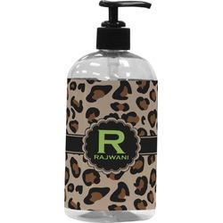 Granite Leopard Plastic Soap / Lotion Dispenser (16 oz - Large) (Personalized)