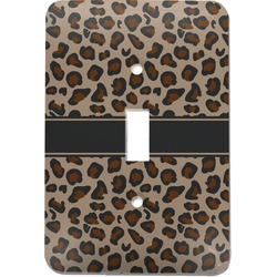 Granite Leopard Light Switch Cover (Single Toggle) (Personalized)