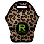 Granite Leopard Lunch Bag w/ Name and Initial