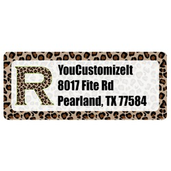 Granite Leopard Return Address Label (Personalized)