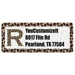 Granite Leopard Return Address Labels (Personalized)