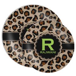 Granite Leopard Melamine Plate (Personalized)