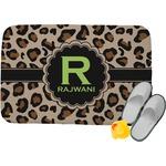 Granite Leopard Memory Foam Bath Mat (Personalized)