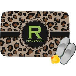 Granite Leopard Memory Foam Bath Mat (Personalized)