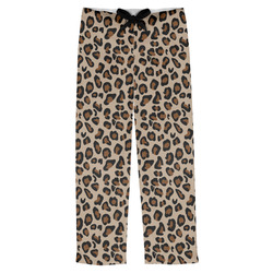 Granite Leopard Mens Pajama Pants (Personalized)