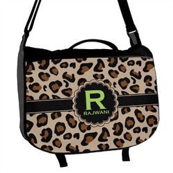 Granite Leopard Messenger Bag (Personalized)