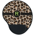 Granite Leopard Mouse Pad with Wrist Support