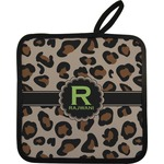 Granite Leopard Pot Holder w/ Name and Initial
