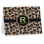 Granite Leopard Note cards (Personalized)