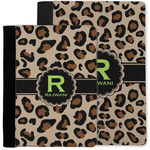 Granite Leopard Notebook Padfolio w/ Name and Initial