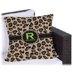 Granite Leopard Outdoor Pillow (Personalized)