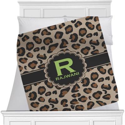 Granite Leopard Minky Blanket (Personalized)