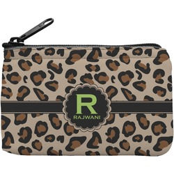 Granite Leopard Rectangular Coin Purse (Personalized)
