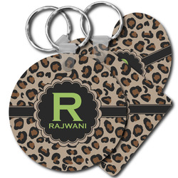 Granite Leopard Keychains - FRP (Personalized)