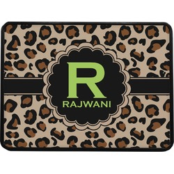 Granite Leopard Rectangular Trailer Hitch Cover (Personalized)