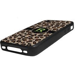 Granite Leopard Rubber iPhone Case 4/4S (Personalized)