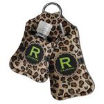 Granite Leopard Hand Sanitizer & Keychain Holder (Personalized)