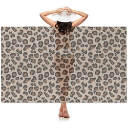 Granite Leopard Sheer Sarong (Personalized)