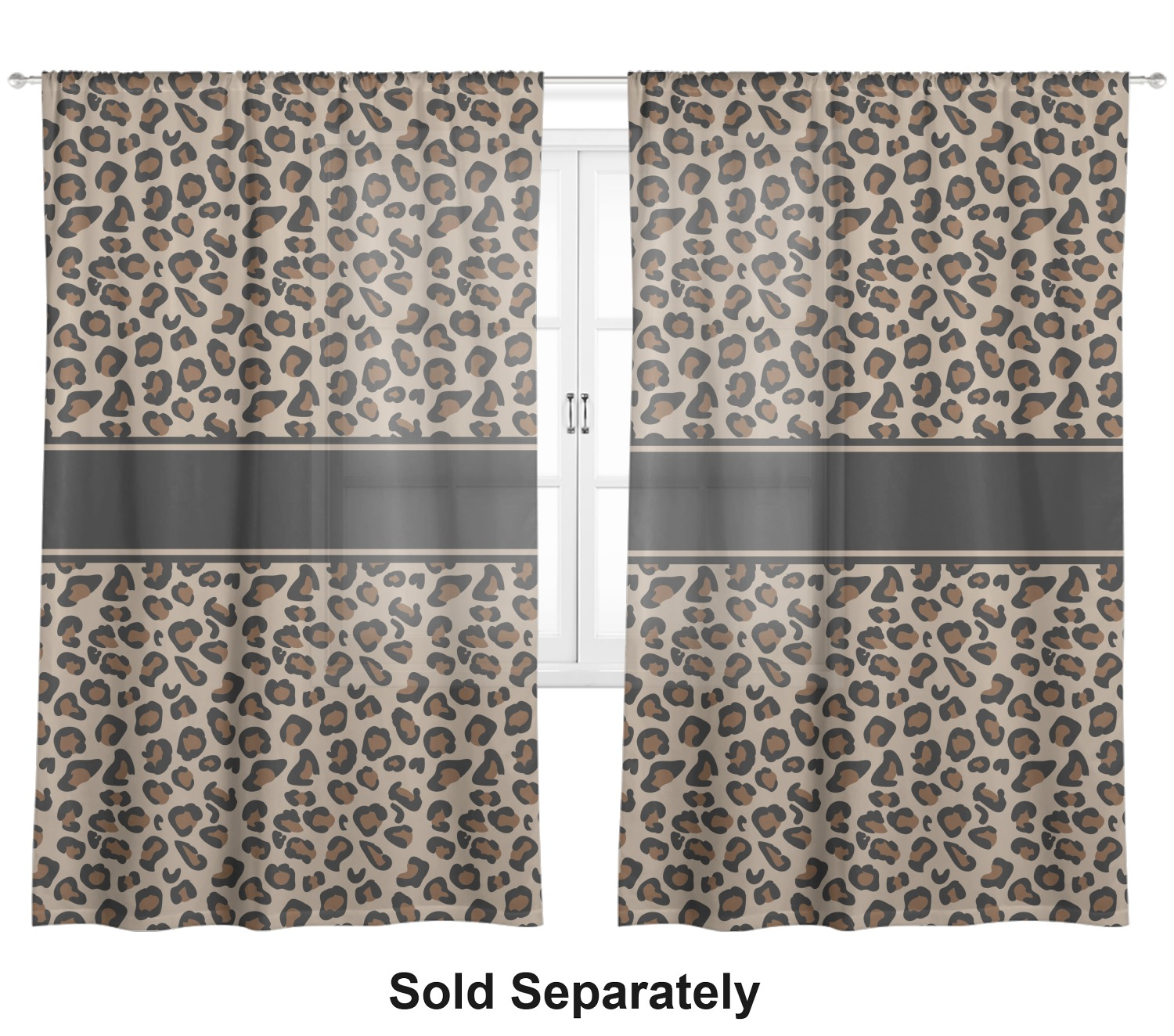 Granite Leopard Sheer Curtains Personalized Youcustomizeit