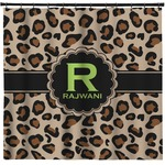 Granite Leopard Shower Curtain (Personalized)
