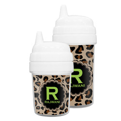 Granite Leopard Sippy Cup (Personalized)