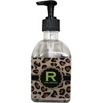 Granite Leopard Soap/Lotion Dispenser (Glass) (Personalized)