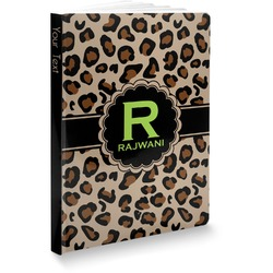 "Granite Leopard Softbound Notebook - 5.75"" x 8"" (Personalized)"