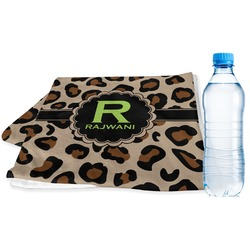 Granite Leopard Sports Towel (Personalized)
