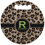 Granite Leopard Stadium Cushion (Round) (Personalized)
