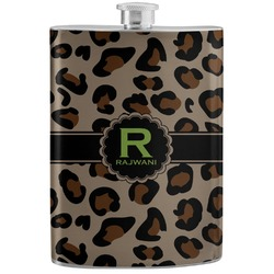 Granite Leopard Stainless Steel Flask (Personalized)