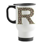 Granite Leopard Stainless Steel Travel Mug with Handle