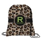 Granite Leopard Drawstring Backpack (Personalized)