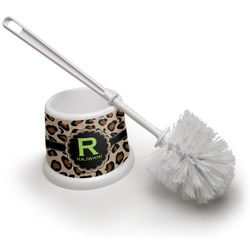 Granite Leopard Toilet Brush (Personalized)