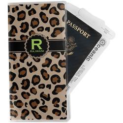 Granite Leopard Travel Document Holder