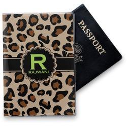 Granite Leopard Vinyl Passport Holder (Personalized)
