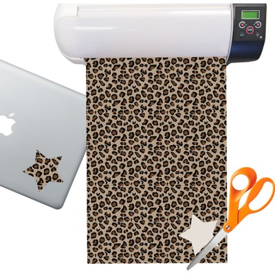 Granite Leopard Sticker Vinyl Sheet (Permanent)