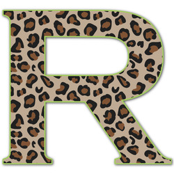 Granite Leopard Letter Decal - Custom Sizes (Personalized)