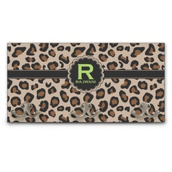 Granite Leopard Wall Mounted Coat Rack (Personalized)