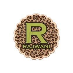 Granite Leopard Genuine Wood Sticker (Personalized)