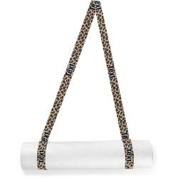 Granite Leopard Yoga Mat Strap (Personalized)