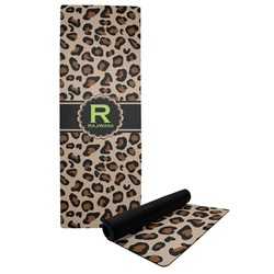 Granite Leopard Yoga Mat (Personalized)
