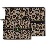 Granite Leopard Zipper Pouch (Personalized)
