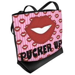 Lips (Pucker Up) Beach Tote Bag