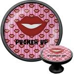 Lips (Pucker Up) Cabinet Knob (Black)