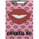 Lips (Pucker Up) Clipboard