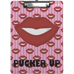 Lips (Pucker Up) Clipboard
