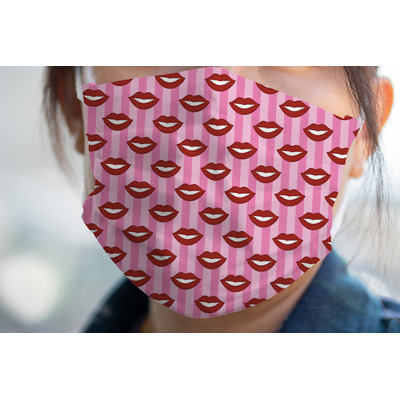 Lips (Pucker Up) Face Mask Cover