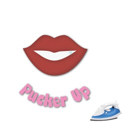 Lips (Pucker Up) Graphic Iron On Transfer