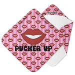 Lips (Pucker Up) Hooded Baby Towel