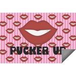 Lips (Pucker Up) Indoor / Outdoor Rug